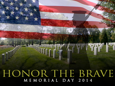 Memorial Day Honor the brave